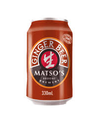 Matso's Ginger Beer Can 330ml 3.5%