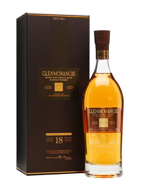 Glenmorangie Aged 18 Yrs Scotch Whisky 700ml 43%
