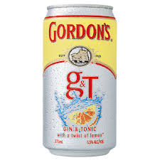 Gordon's Gin & Tonic Can 6pack 375ml 4.5%