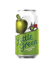 Little Green Sweet Apple Cider Can 10 Pack 375ml 4.5%