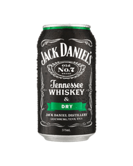 Jack Daniel's & Dry Can 4pack 375ml 5%