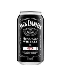 Jack Daniel's & Zero Cola Can 4pack 375ml 5%