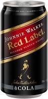 Johnnie Walker & Cola Can 6pack 375ml 4.6%