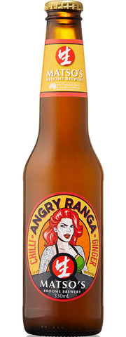 Matso's Angry Ranga Chilli and Ginger 330ml 3.5%