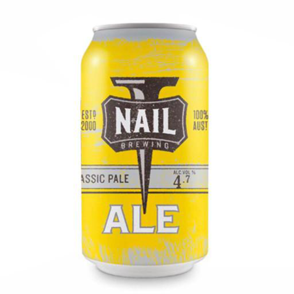 Nail Brewing Classic Ale Can 375ml 4.7%