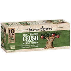 James Squire Orchard Crush Can 10 Pack 375ml 4.8%
