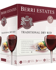Berri Estates Traditional Dry Red Cask 5L