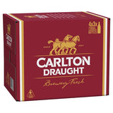 CARLTON DRAUGHT 4.6% 750ml LONG NECK