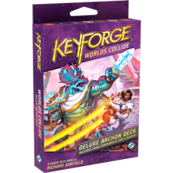FFG - KeyForge Worlds Collide Deluxe Deck | Comic Shop Crawley