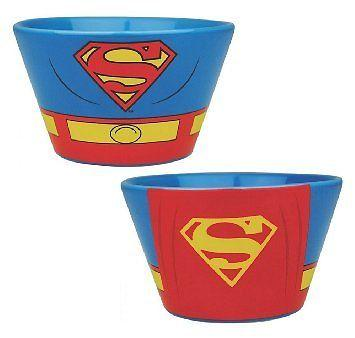 Superman Breakfast Bowl