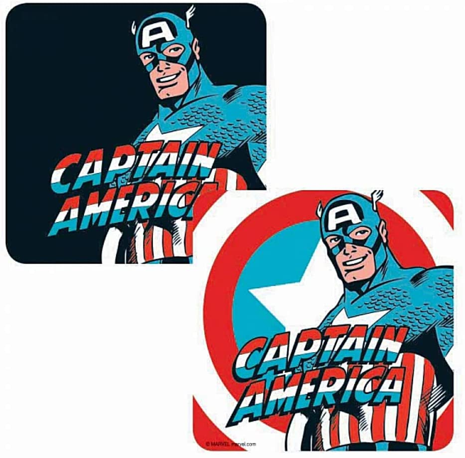 Captain America Lenticular Coaster | Comic Shop Crawley