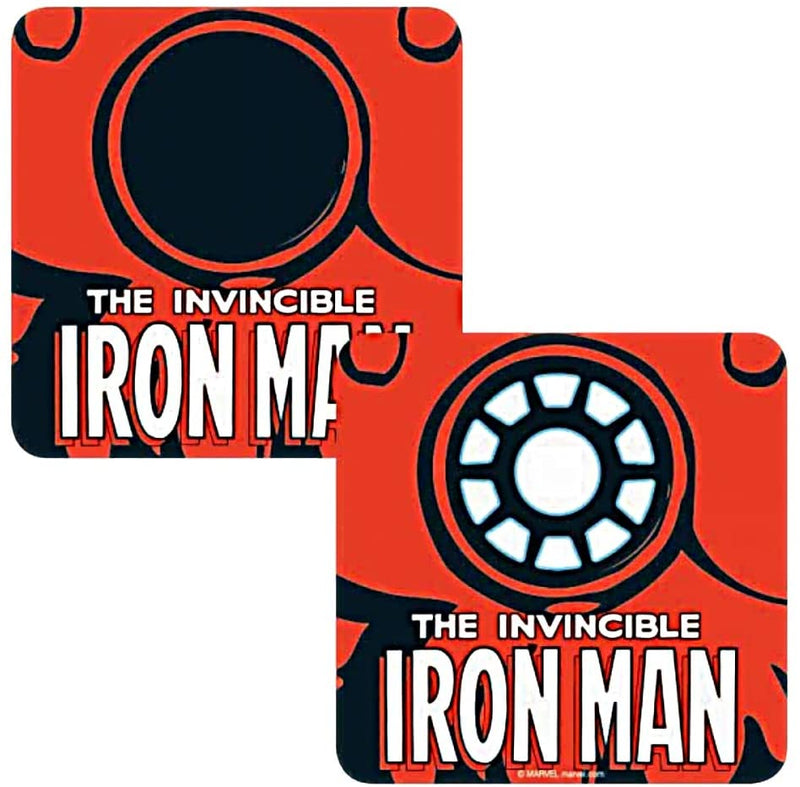 INVINCIBLE IRON MAN LENTICULAR COASTER