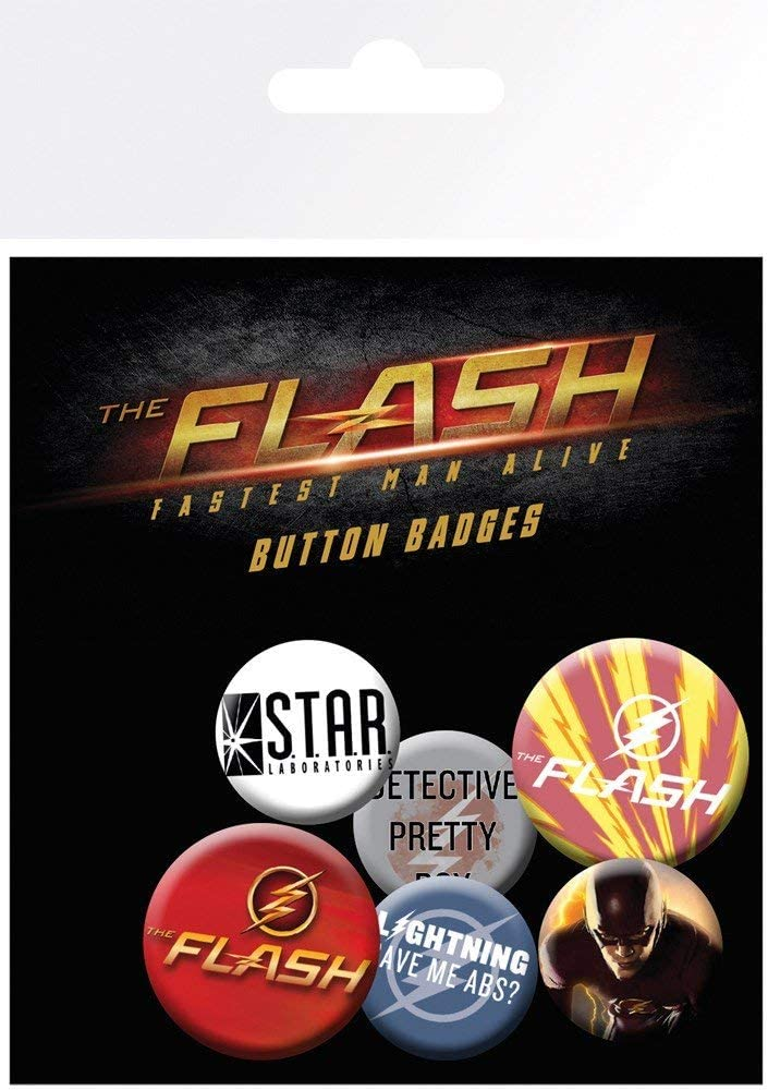 The Flash Badge Pack | Comic Shop Crawley