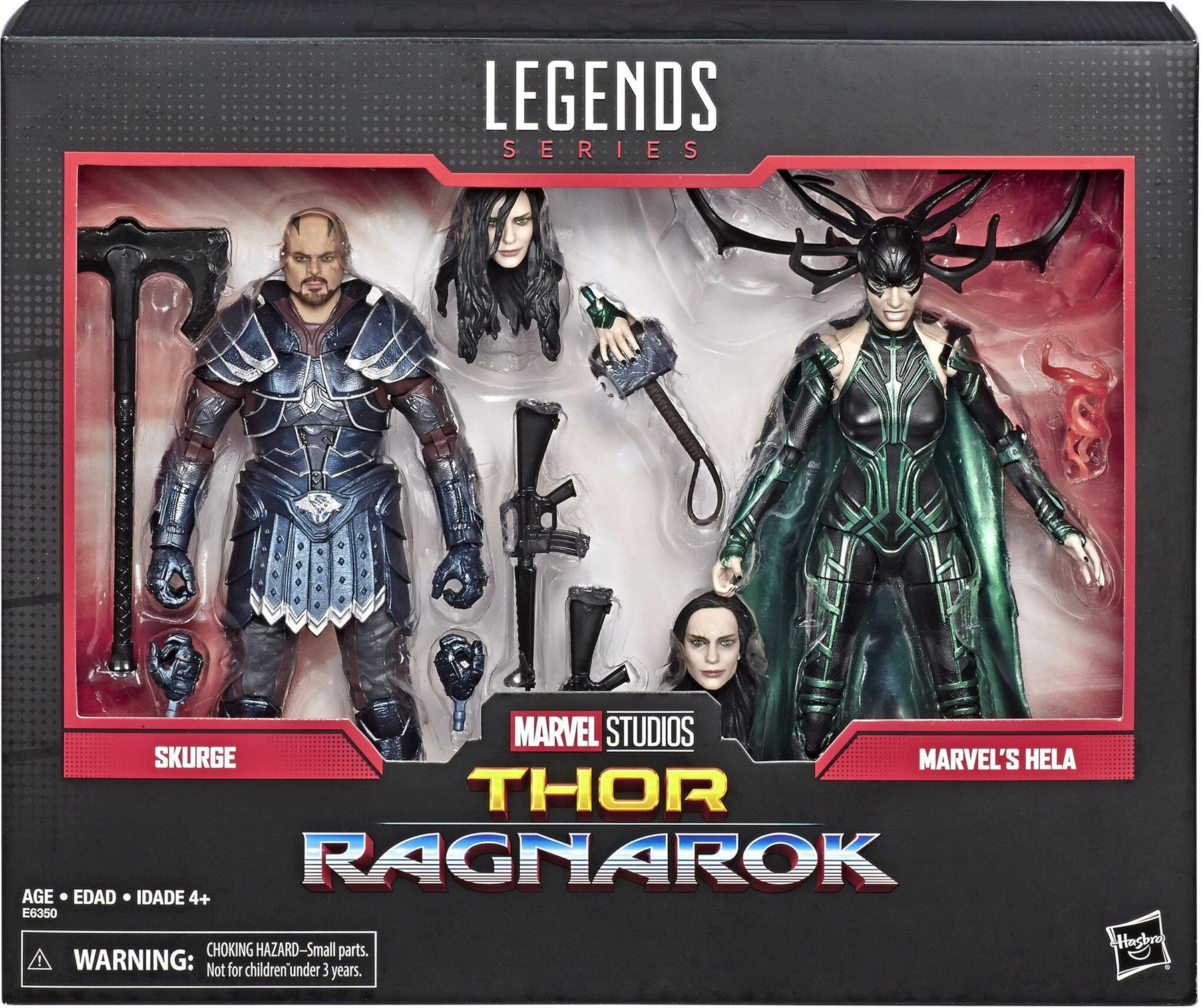MARVEL LEGENDS SKURGE AND HELA | Comic Shop Crawley