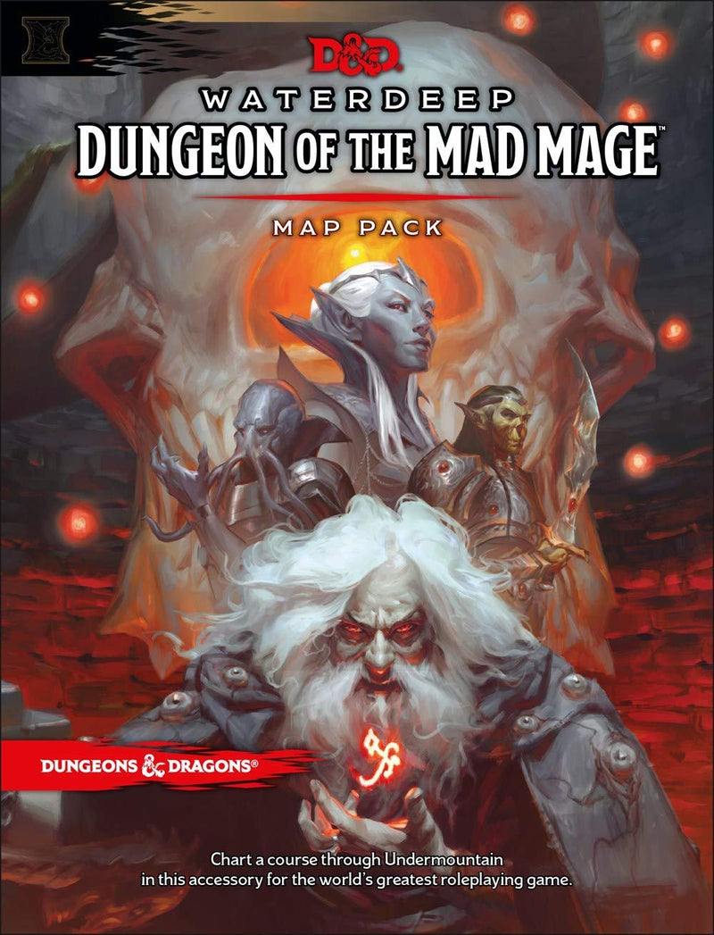 Waterdeep: Dungeon of the Mad Mage (Maps & Misc)