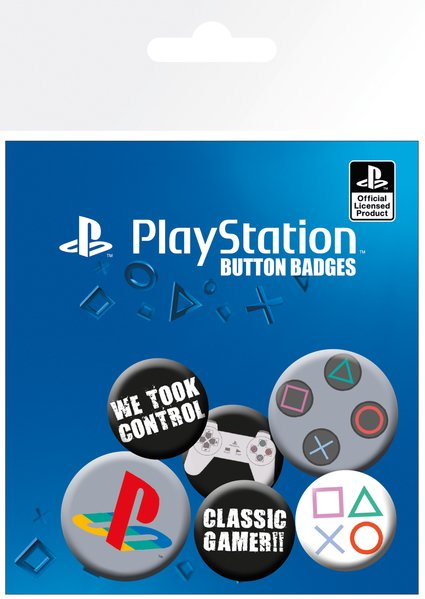 PLAYSTATION BADGE PACK | Comic Shop Crawley