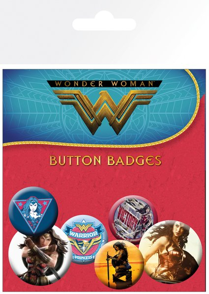 WONDER WOMAN BADGE PACK | Comic Shop Crawley