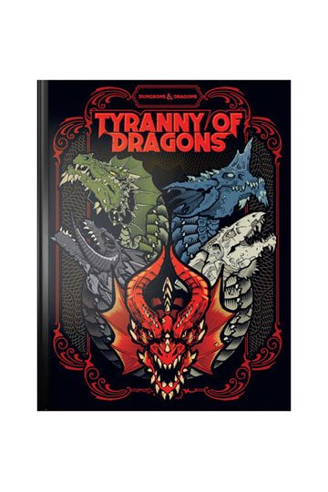 Tyranny of Dragons - Local Game Store Cover | Comic Shop Crawley