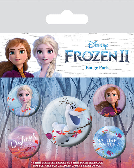 Frozen II Badge Pack