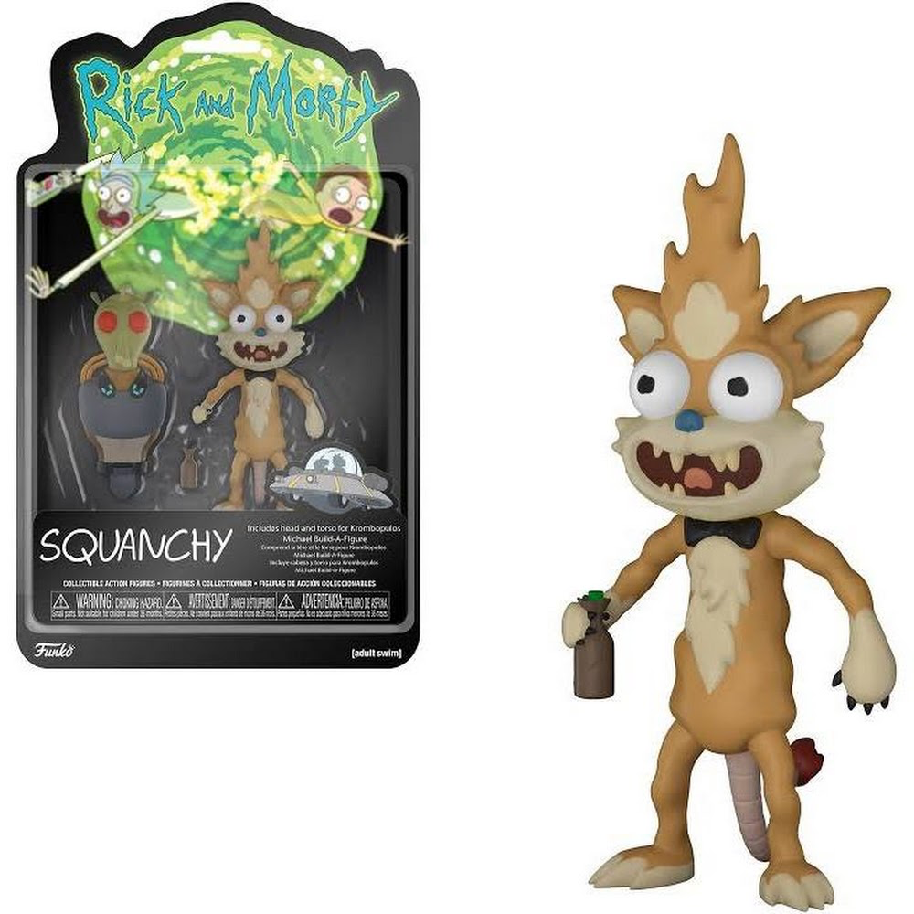 FUNKO RICK AND MORTY - SQUANCHY | Comic Shop Crawley