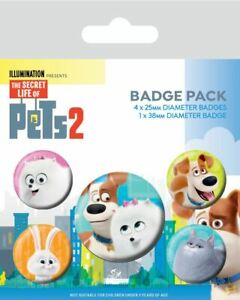 SECRET LIFE OF PETS BADGE PACK | Comic Shop Crawley