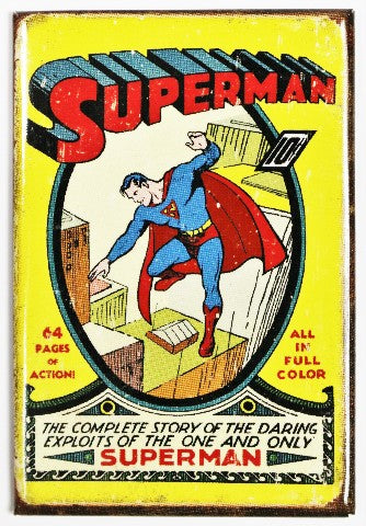 FRIDGE MAGNET - SUPERMAN ACTION COMICS | Comic Shop Crawley