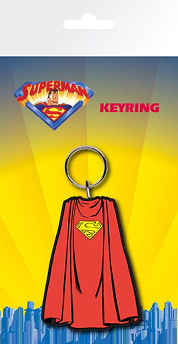 SUPERMAN KEYRING | Comic Shop Crawley