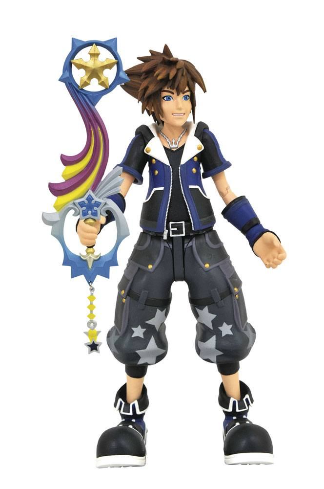 Kingdom Hearts 3 Select Action Figure Wisdom Form Sora 18 cm