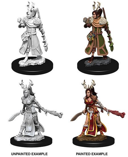 Nolzur's Marvelous Miniatures: Female Human Druid | Comic Shop Crawley