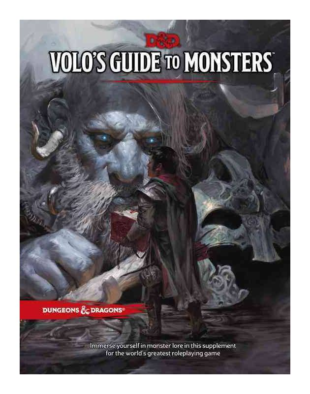 Volo's Guide To Monsters | Comic Shop Crawley