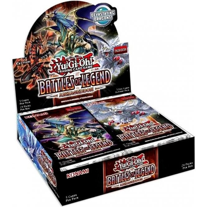 Yu-Gi-Oh - Battles of Legend: Armageddon Booster | Comic Shop Crawley
