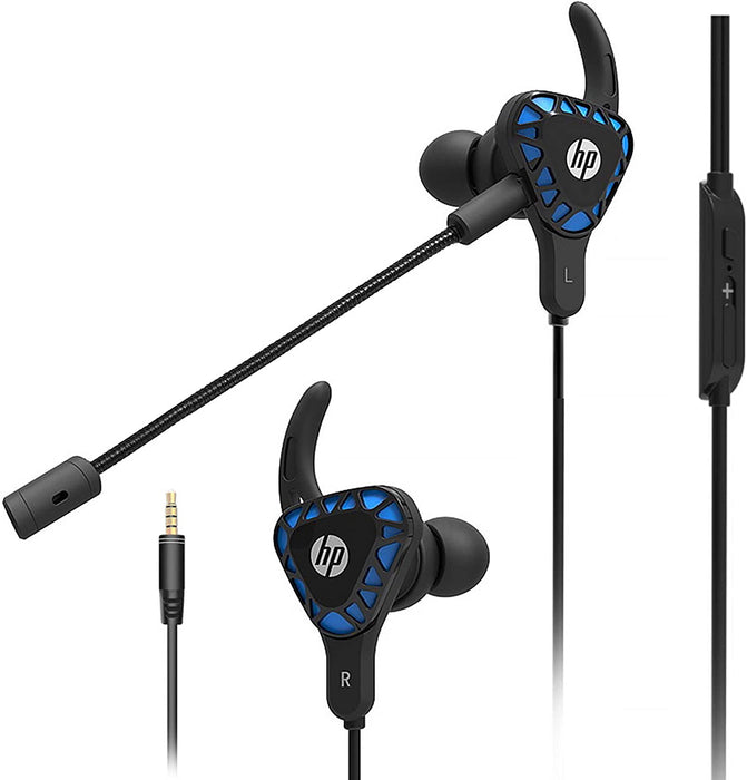 HP Gaming Earbuds with mic Deep Bass Earphones