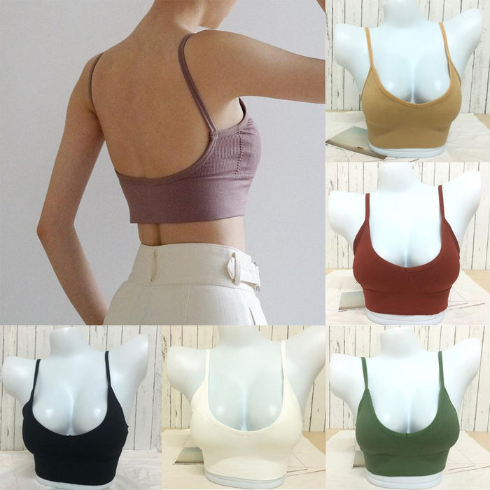 Plain Strappy Back Tie Up