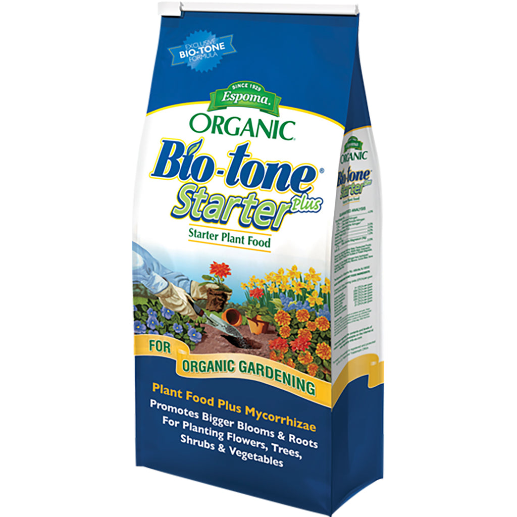 bag of Bio-tone starter plant food