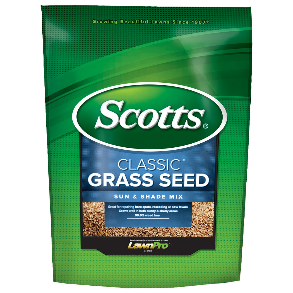 bag of Scotts Class Grass Seed Sun & Shade Mix
