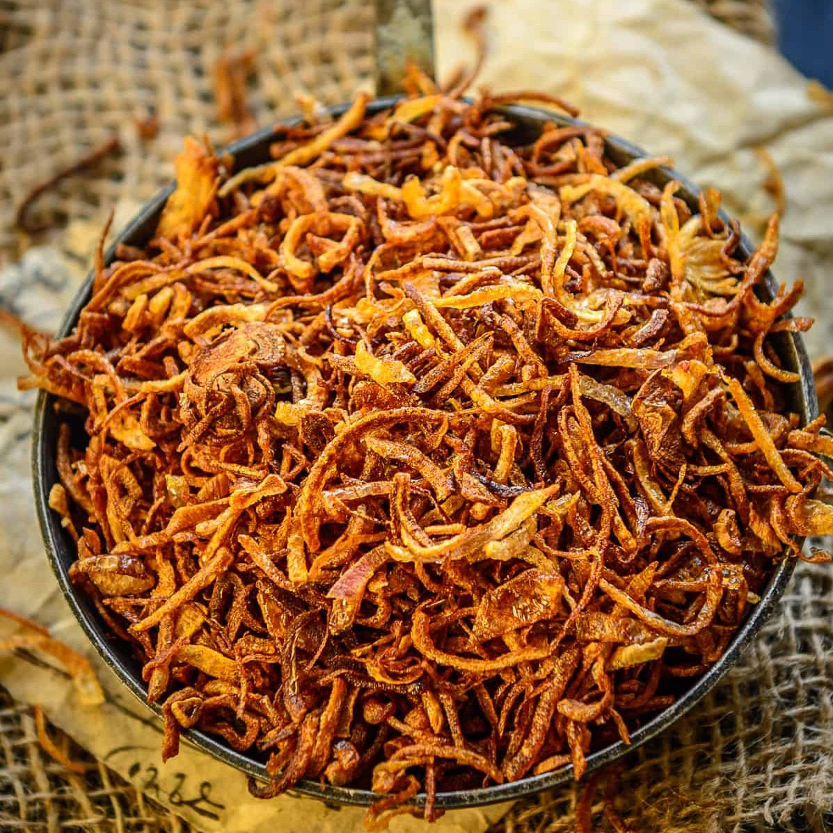 Crispy Caramelised Fried Onions