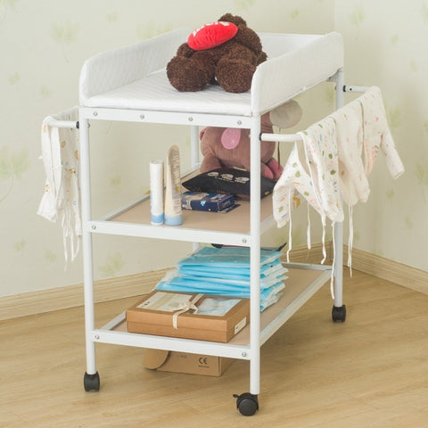 1pc Portable Movable Diapering Table