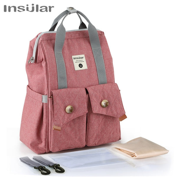 Baby Diaper Travel Backpack Mummy Maternity Nappy Stroller Bag