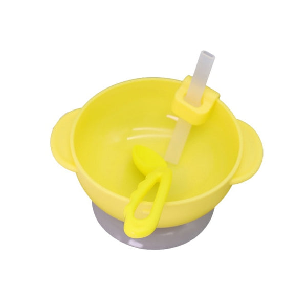 Hot Baby Bowl Spoon Feeding Food Tableware Set