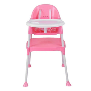 3 In 1 Baby High Chair Convertible Table Seat Booster
