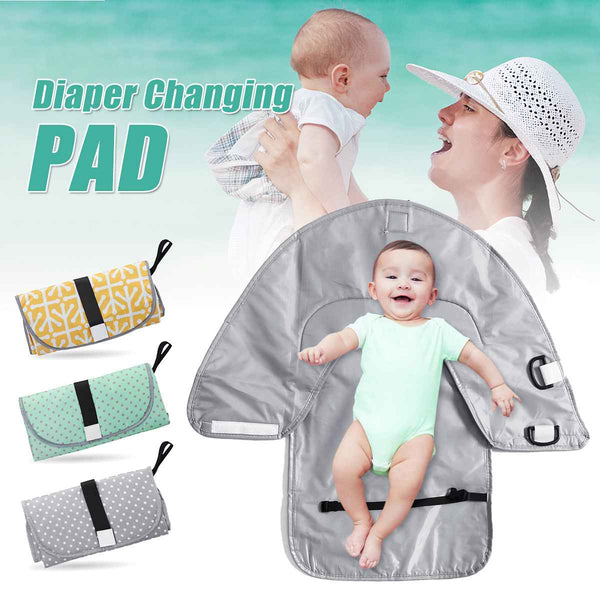 Portable Infant Baby Foldable Diaper Changing Mat Urine Mat Waterproof
