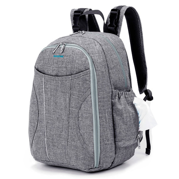 Large Capacity Nappy Backpack Bag With Changing Pad