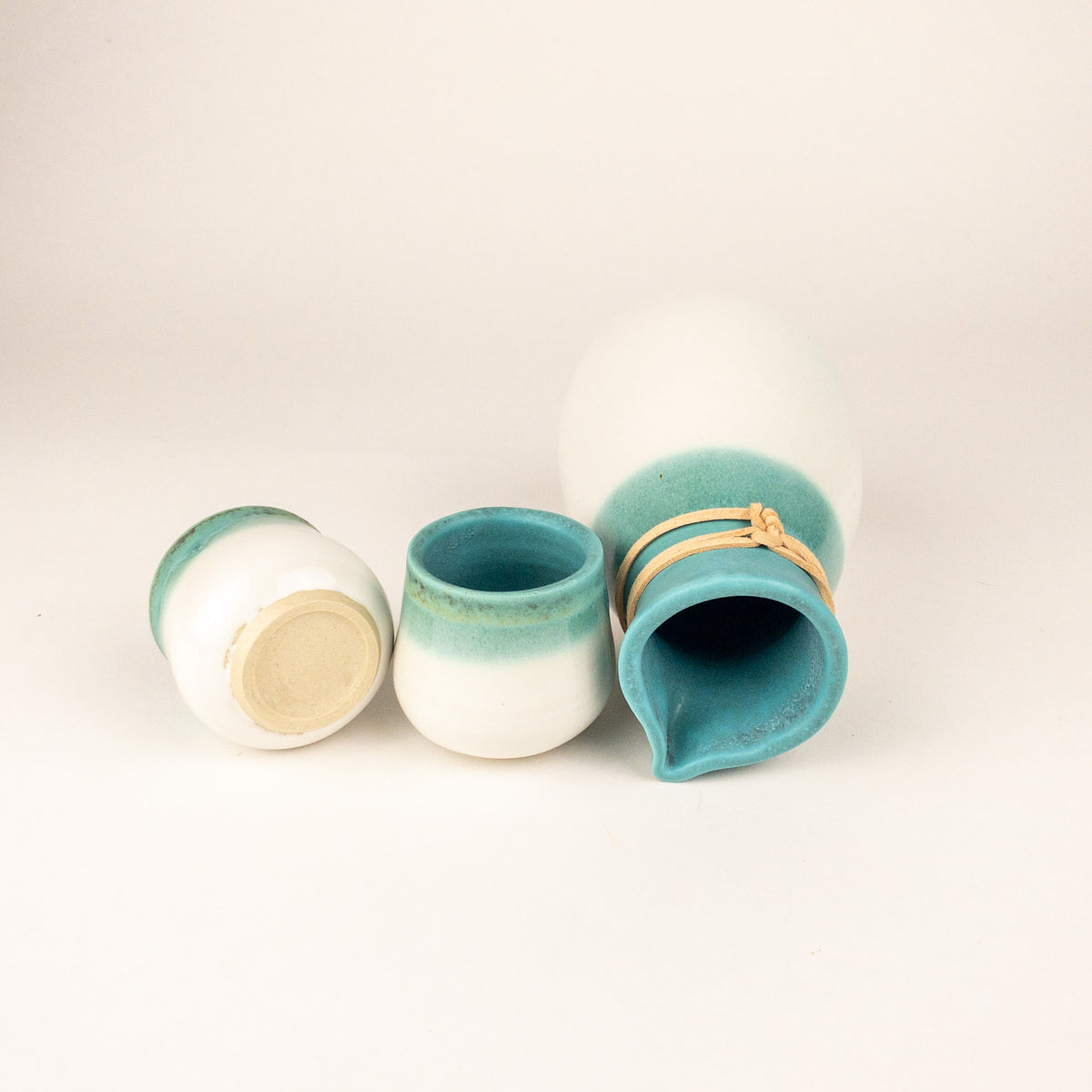 Bluebird Sake Set