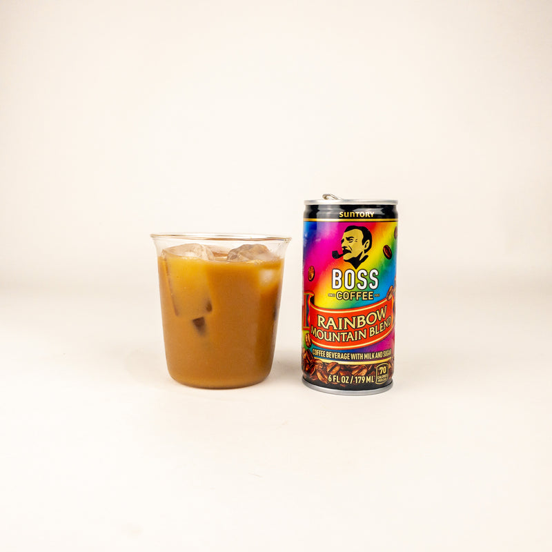 Drinks - Boss Coffee Rainbow Mountain