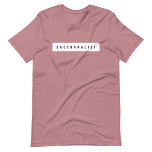 Bacchanalist Tape Short-Sleeve Unisex T-Shirt