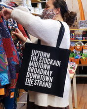 Load image into Gallery viewer, Kingston Neighborhood Tote Bag - Small Black