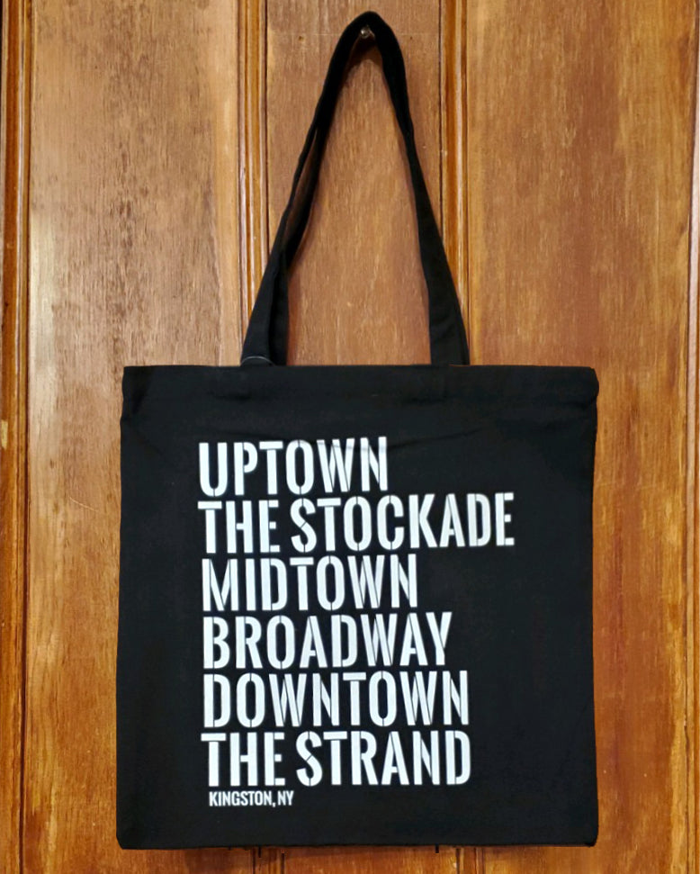 Kingston Neighborhood Tote Bag - Small Black