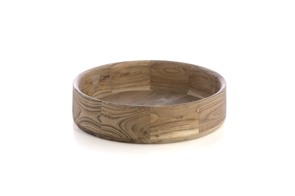 Mango Wood Serving Bowl 16
