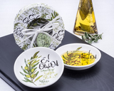 Olive Oil Dipping Dishes (Set of 2)