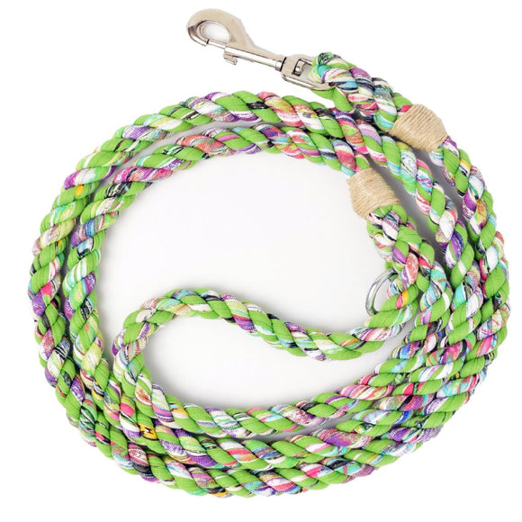 Green Grass Artisan Leash